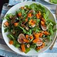 Теплый тыквенный салат