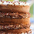 Тыквенный торт с кленовой глазурью