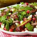 Осенний салат Руккола, Гранат и Груша