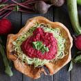 Спагетти из цукини под свекольным соусом Маринара  | Raw Beet Marinara Sauce with Zucchini