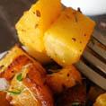 Простой рецепт запеченой тыквы с кокосовым маслом