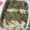Острый тайский гарнир из баклажан к рису