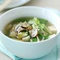 Китайский овощной суп с тофу