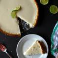 Vegan лаймовый пирог с кокосовым кремом
