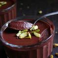 Шоколадно-свекольный мусс