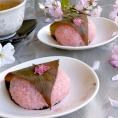 Сакура моти - японские cладкие рисовые пирожки