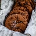 Соленая карамель и Nutella Шоколадное печенье