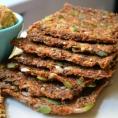 RAW сыроедческий морковный хлеб для сэндвичей
