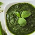 Зеленый чатни с кинзой