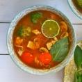 Фо Шо: Вьетнамский суп с лапшой (вегетарианский рецепт)