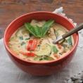 Тайский овощной суп