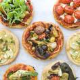 Вегетарианская Мини Пицца   Vegetarian Mini Pizza della Sicilia