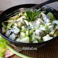 Салат из стеблей сельдерея и груши