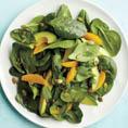 Салат: Шпинат + авокадо