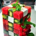 Фруктовый салат Кубик Рубик