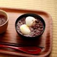 Ошируко (お汁粉) - Сладкий суп из адзуки