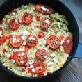Запеканка из цветной капусты с козьим сыром. Отличный вариант для ужина!