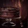 Постный веганский шоколадный кекс