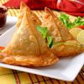 Индийские пирожки самосы (с овощами)