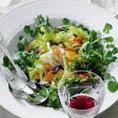 Салат с сельдереем и апельсинами