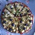 Пицца с брокколи по-итальянски